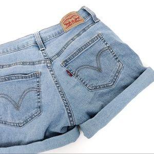 Levi's Long Cuffed Shorts